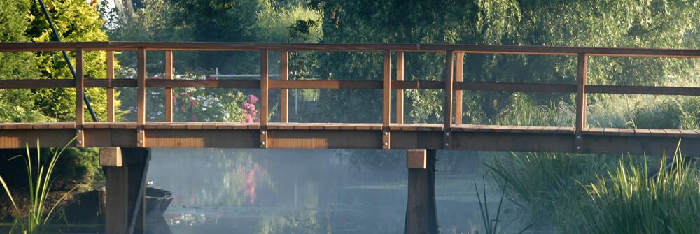 Papier Peint Panoramique jardins et parcs