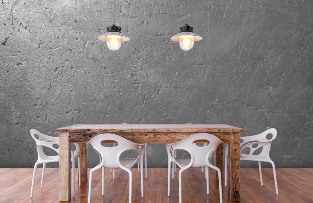 Papier peint aspect béton - Mur en béton gris - Chambre d'adolescent 6