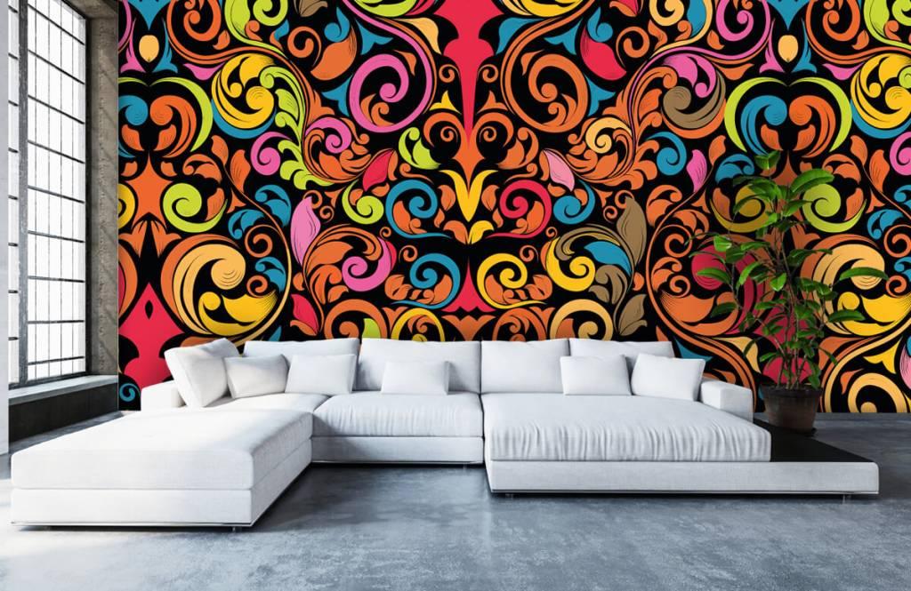 Abstrait - Figures abstraites colorées - Cuisine 6