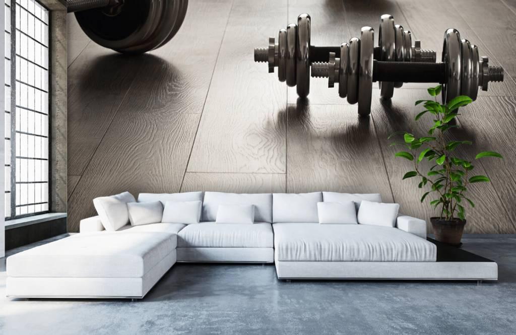 Fitness - Haltères et poids - Chambre d'hobby 4