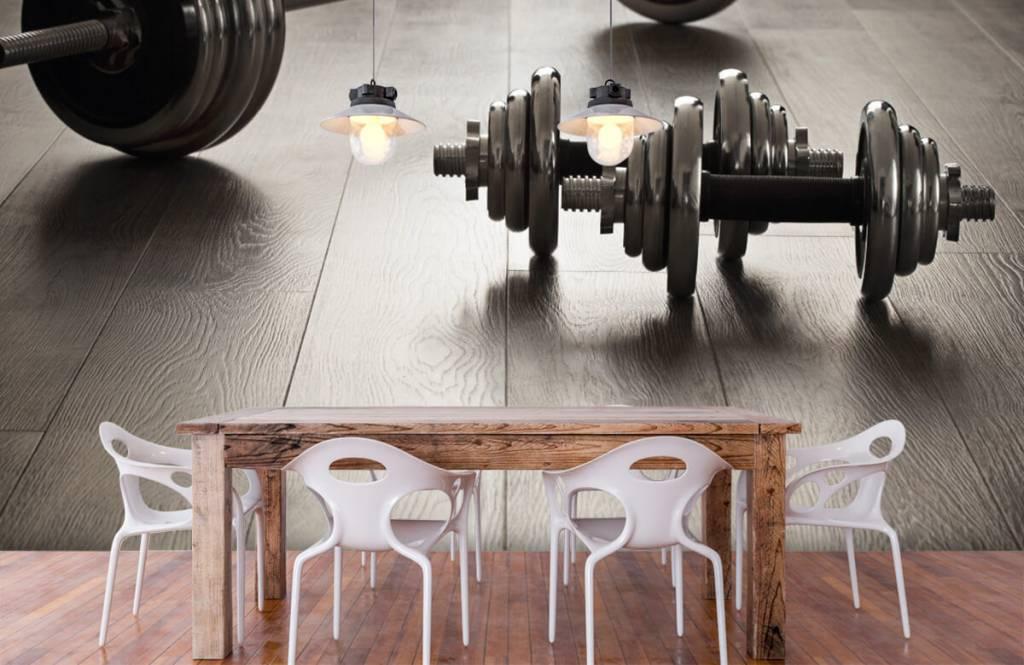 Fitness - Haltères et poids - Chambre d'hobby 5