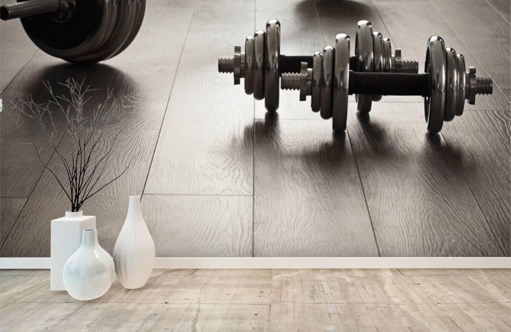 Fitness - Haltères et poids - Chambre d'hobby 6
