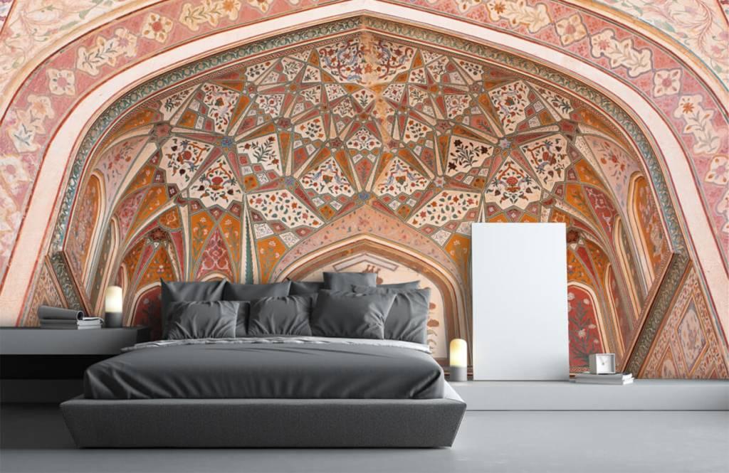 Monuments - Arche indienne richement peinte - Chambre à coucher 2