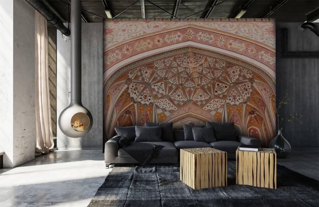 Monuments - Arche indienne richement peinte - Chambre à coucher 6