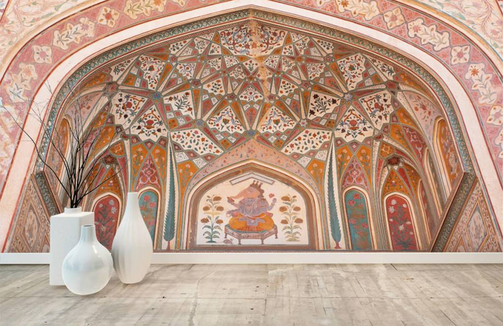 Monuments - Arche indienne richement peinte - Chambre à coucher 8