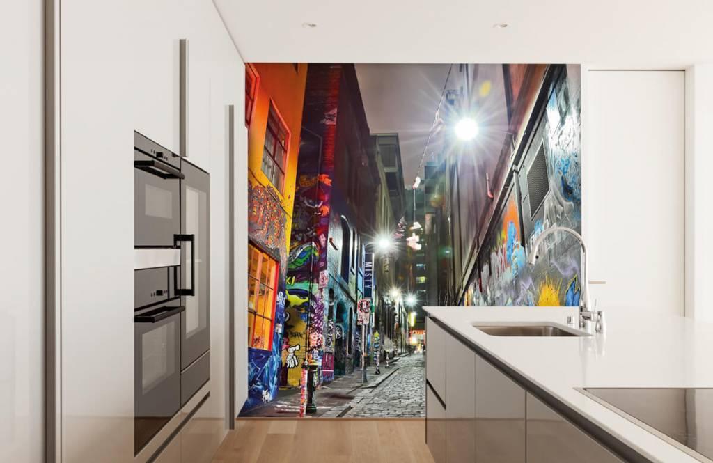 Graffiti - Rue avec graffiti - Chambre d'adolescent 4