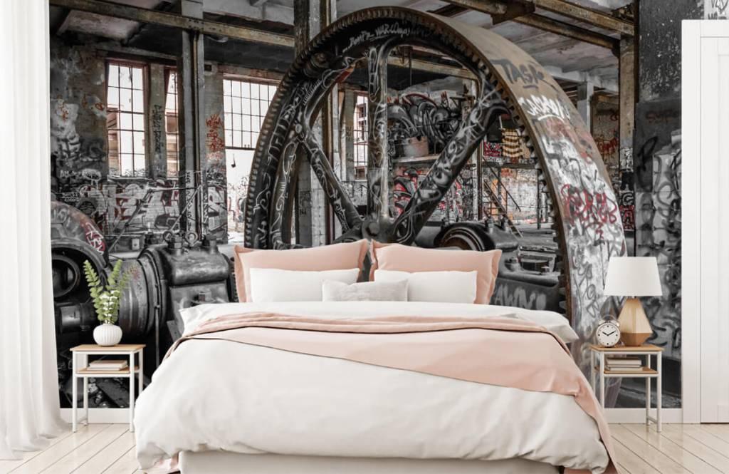 Architecture - Usine abandonnée - Chambre d'adolescent 2