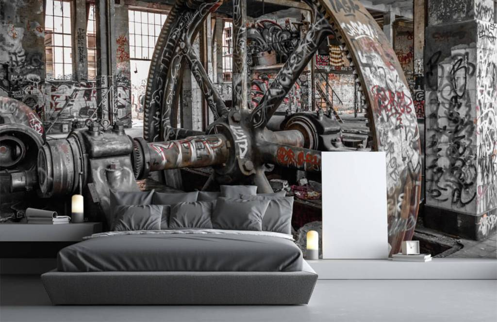 Architecture - Usine abandonnée - Chambre d'adolescent 3