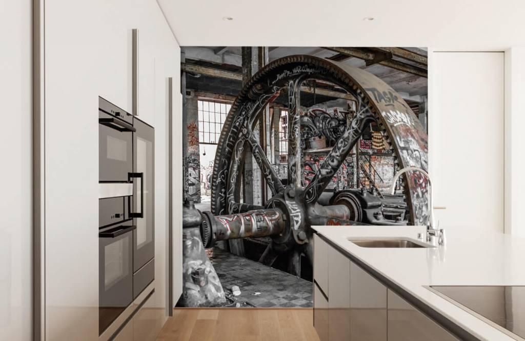 Architecture - Usine abandonnée - Chambre d'adolescent 4