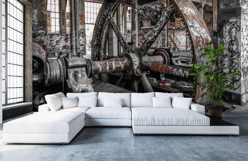 Architecture - Usine abandonnée - Chambre d'adolescent 6