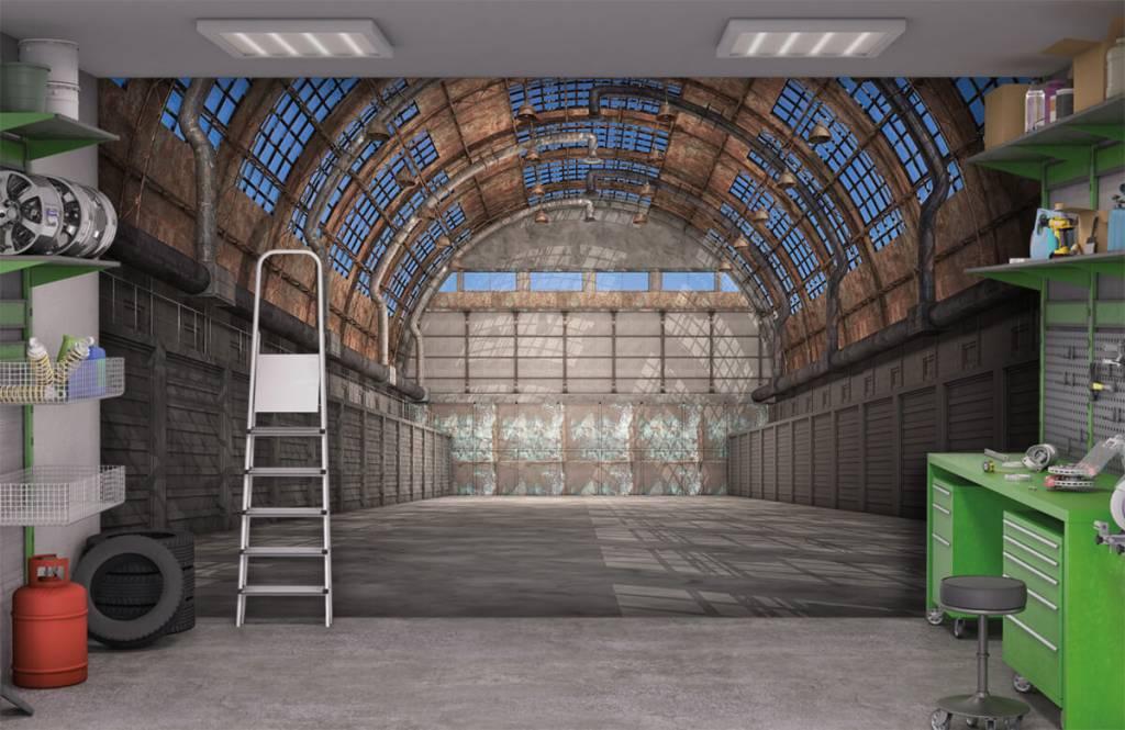 Bâtiments - Hall d'usine vintage - Garage 1