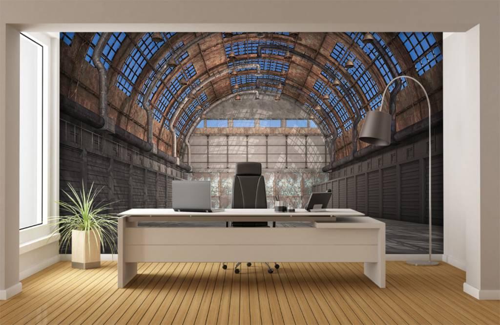 Bâtiments - Hall d'usine vintage - Garage 4
