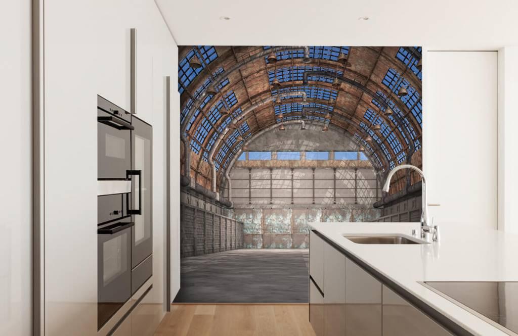 Bâtiments - Hall d'usine vintage - Garage 5