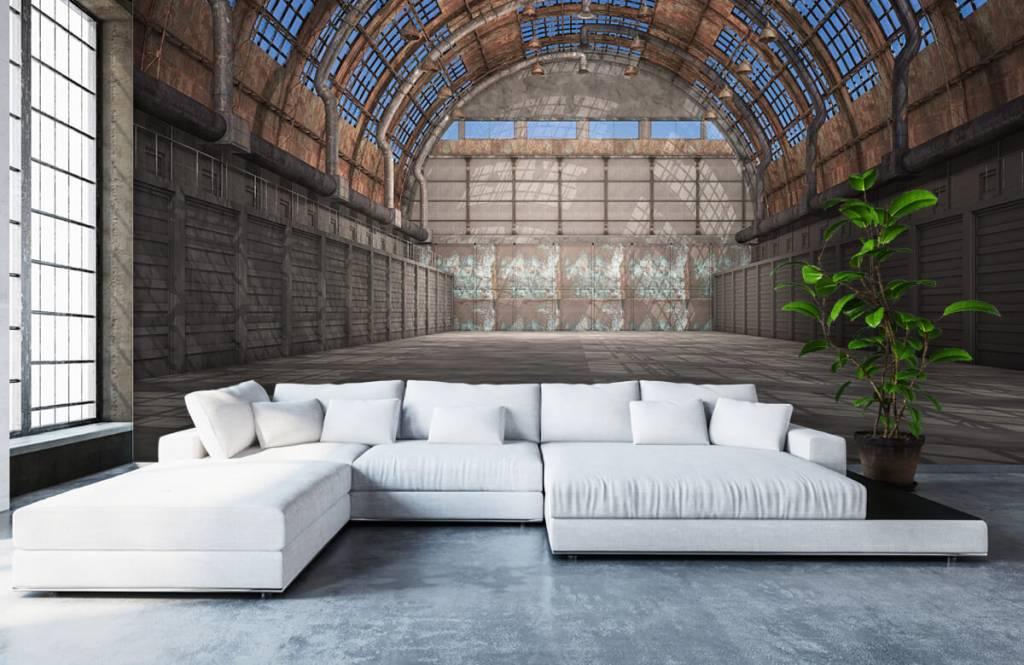 Bâtiments - Hall d'usine vintage - Garage 6