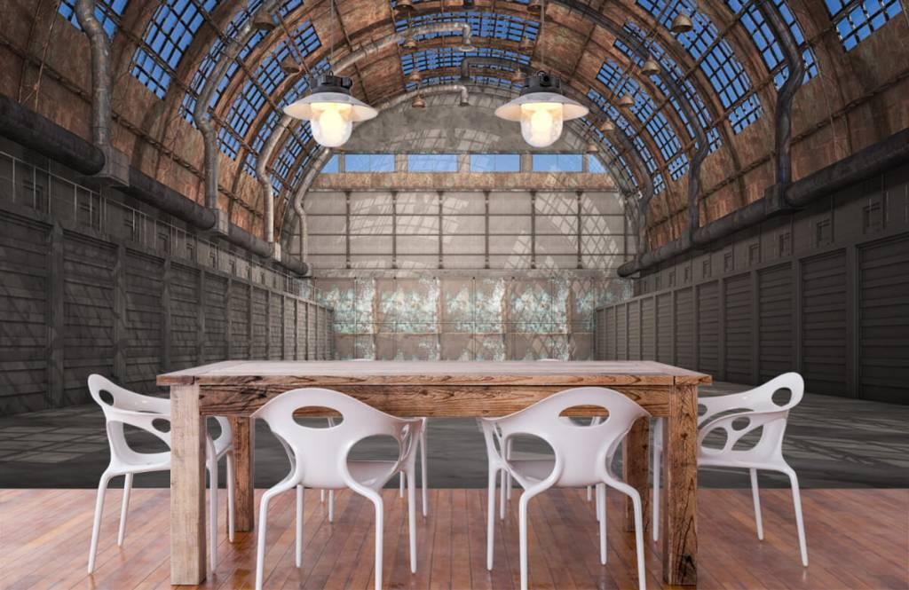 Bâtiments - Hall d'usine vintage - Garage 7