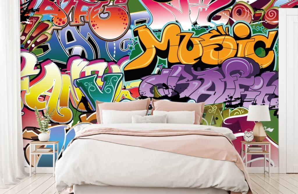 Graffiti - Graffitis signés - Chambre d'adolescent 2