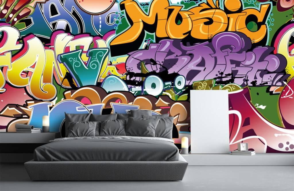 Graffiti - Graffitis signés - Chambre d'adolescent 3