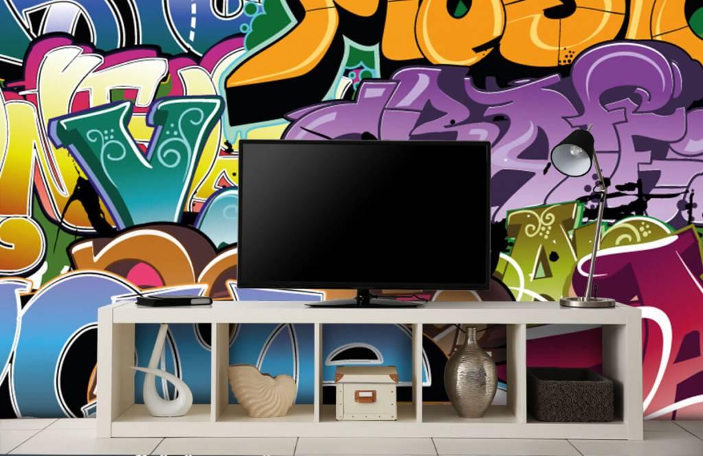Graffiti - Graffitis signés - Chambre d'adolescent 5