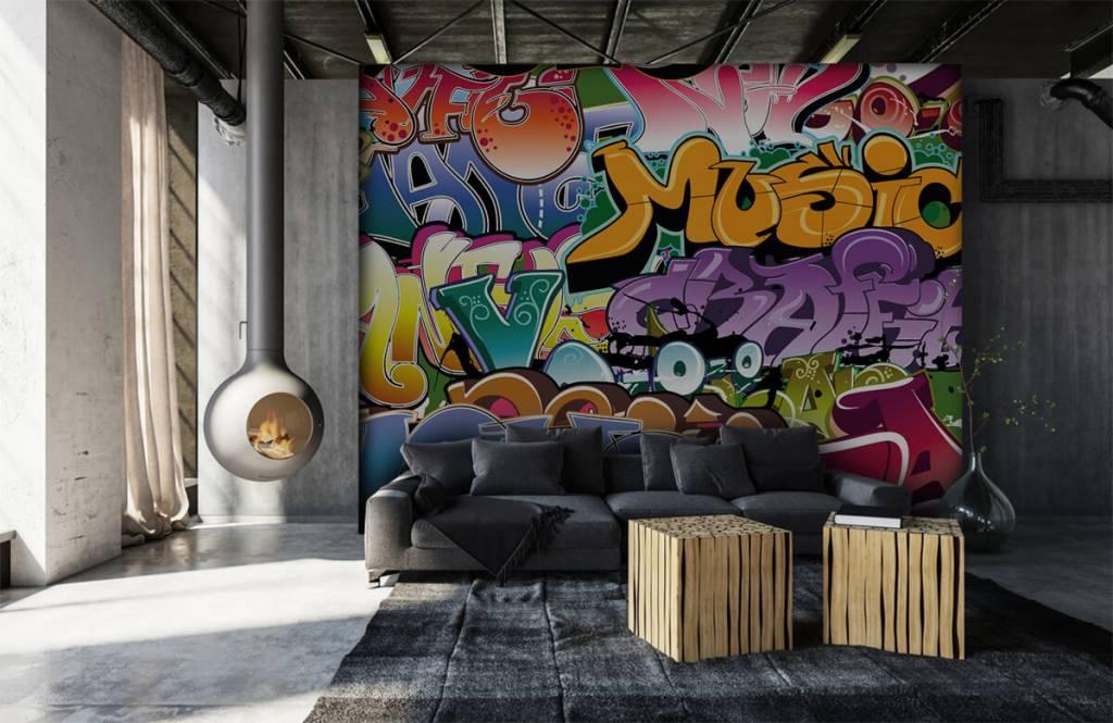 Graffiti - Graffitis signés - Chambre d'adolescent 6