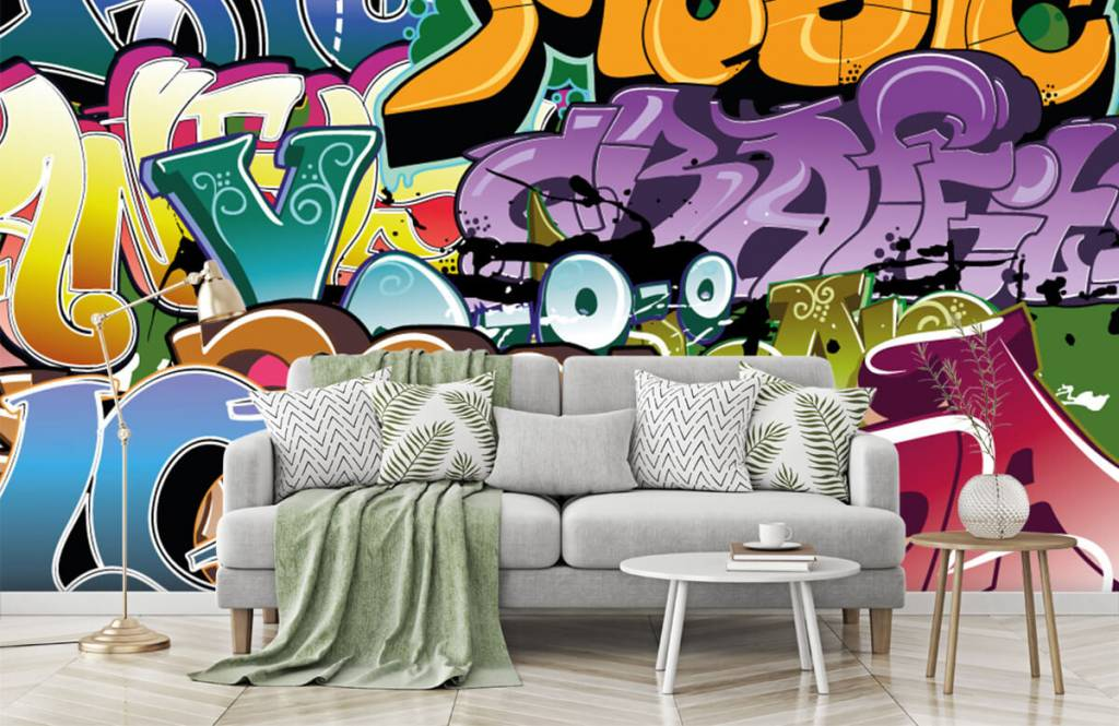 Graffiti - Graffitis signés - Chambre d'adolescent 7