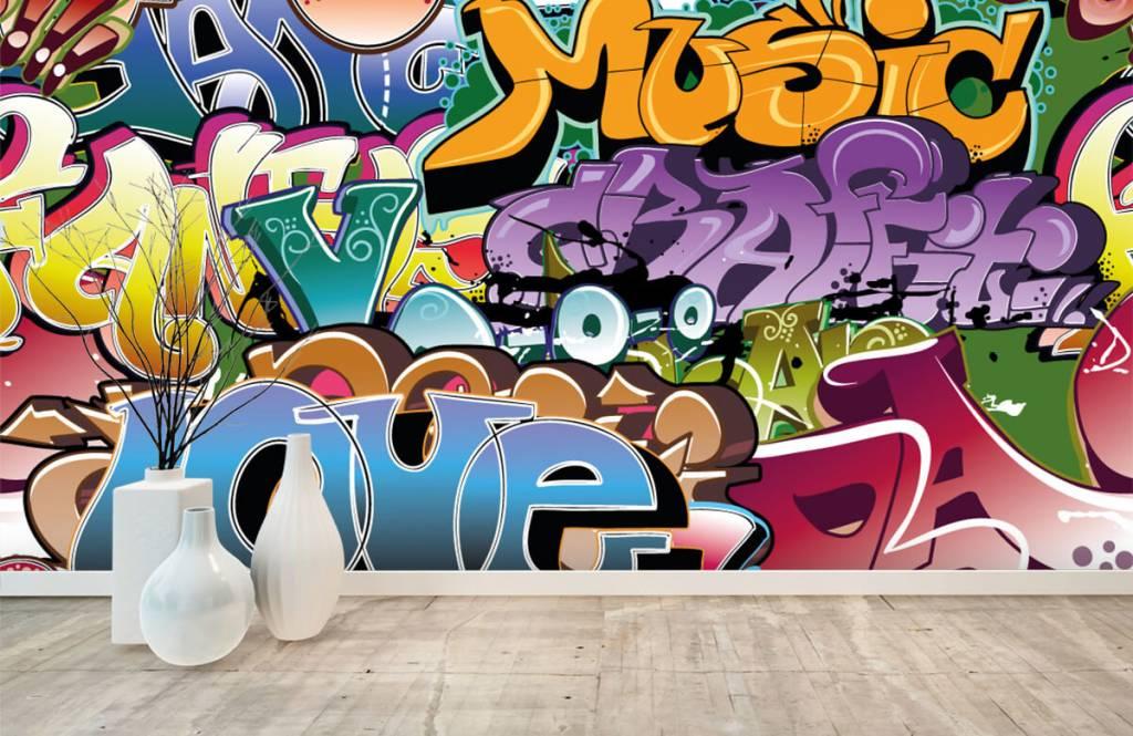 Graffiti - Graffitis signés - Chambre d'adolescent 8