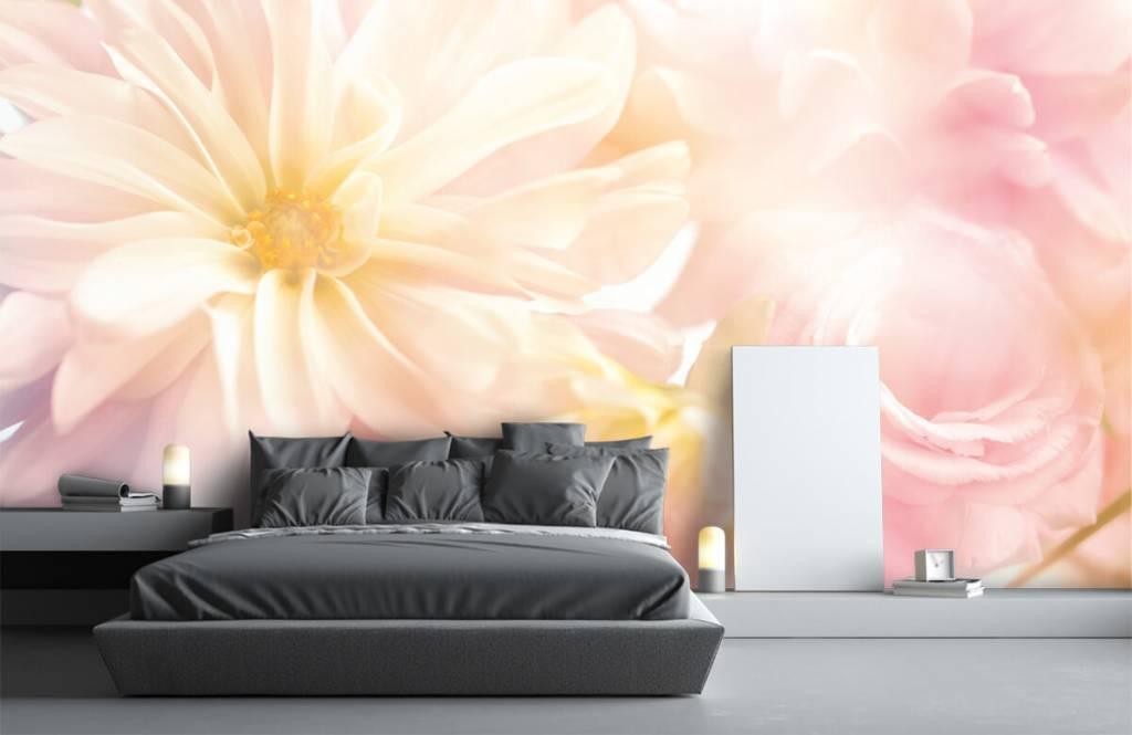 Champs fleuris - Fleurs claires - Chambre à coucher 2