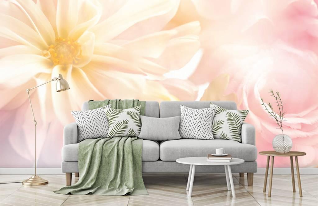 Champs fleuris - Fleurs claires - Chambre à coucher 7