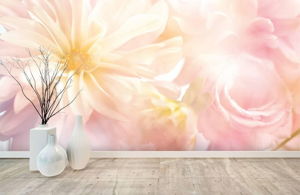 Champs fleuris - Fleurs claires - Chambre à coucher 8