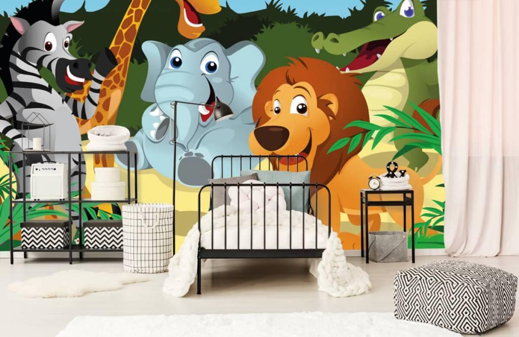 Animaux de Safari - Animaux sauvages joyeux - Chambre des enfants 2
