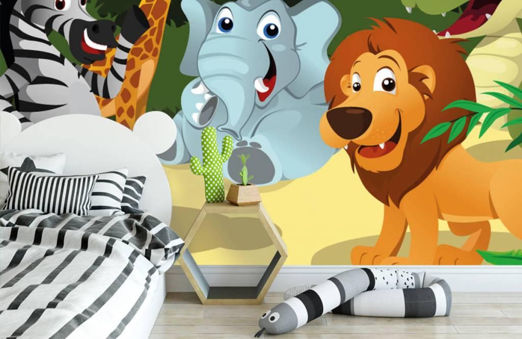 Animaux de Safari - Animaux sauvages joyeux - Chambre des enfants 3