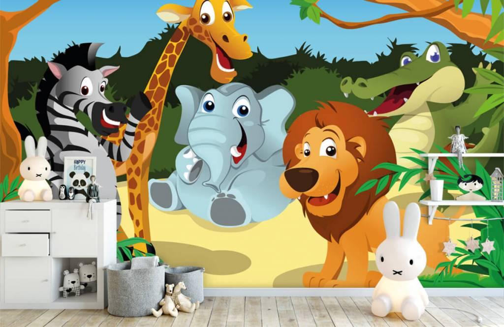 Animaux de Safari - Animaux sauvages joyeux - Chambre des enfants 4