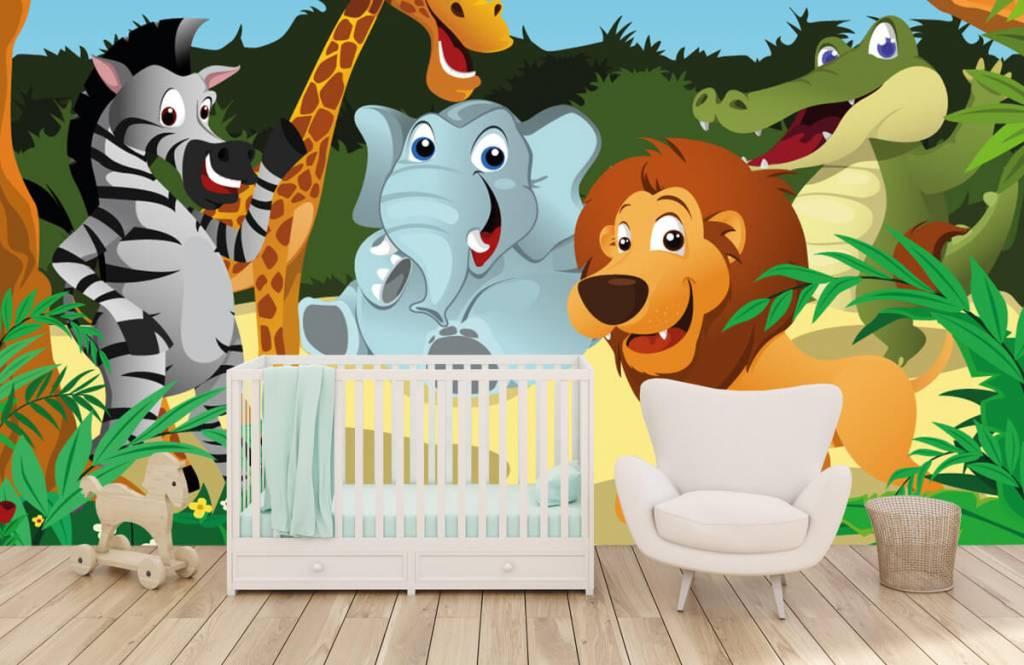 Animaux de Safari - Animaux sauvages joyeux - Chambre des enfants 5
