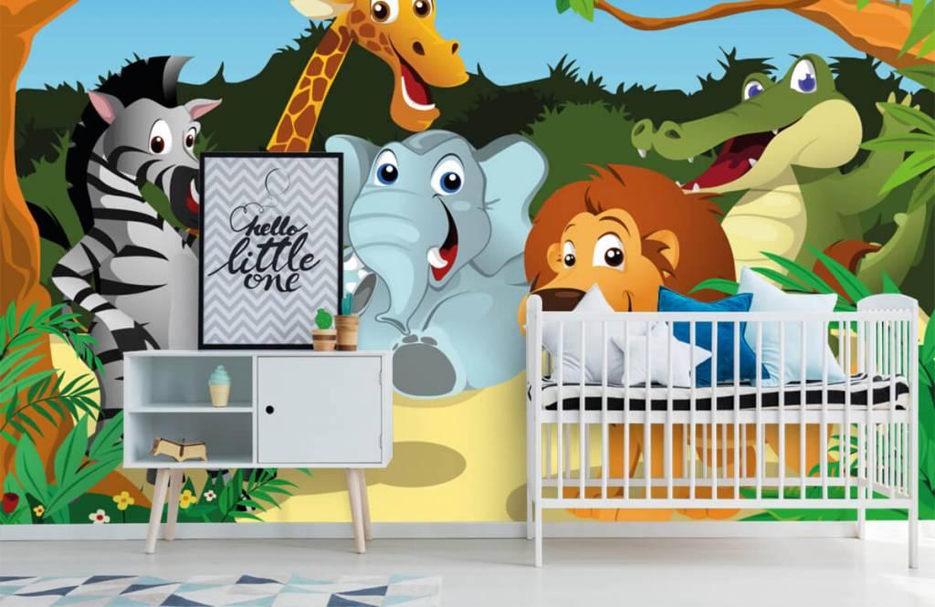 Animaux de Safari - Animaux sauvages joyeux - Chambre des enfants 6
