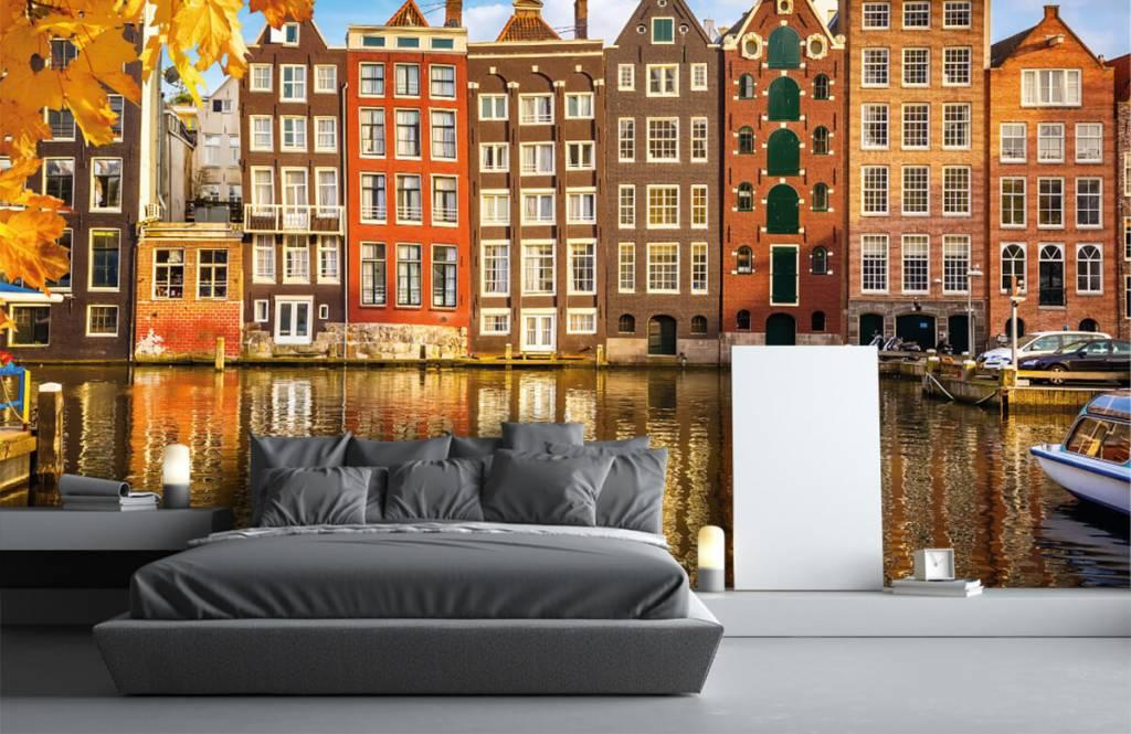 Papier peint Villes - Amsterdam - Chambre à coucher 2