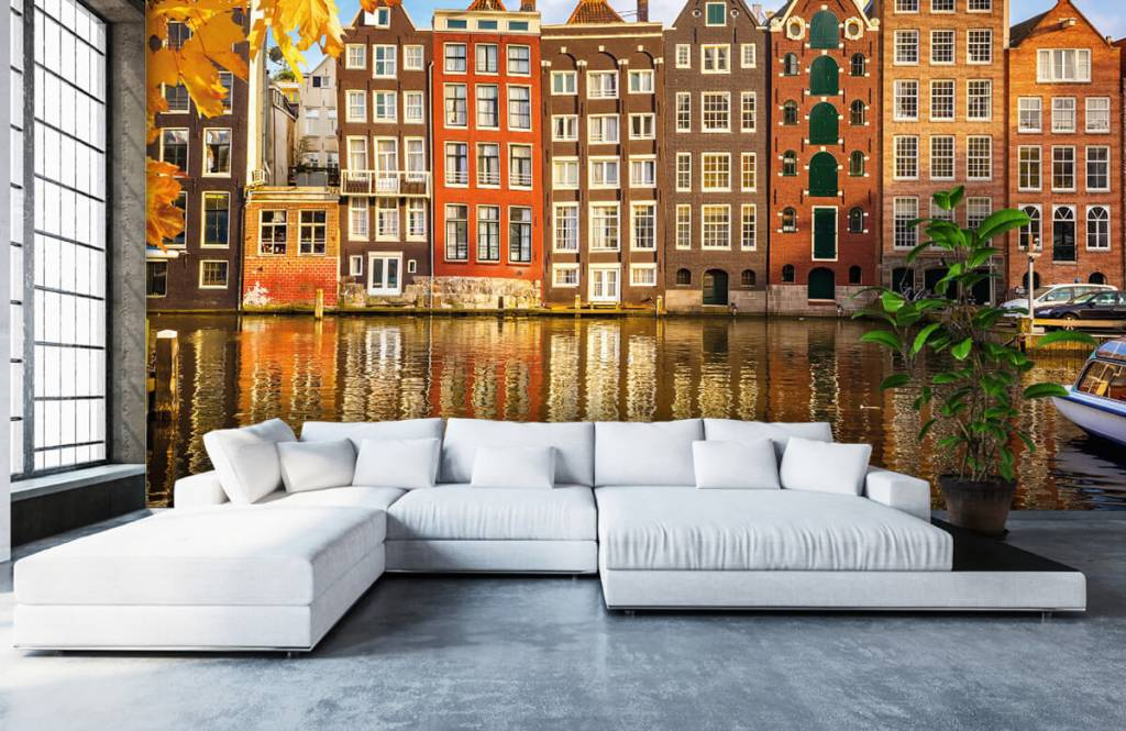 Papier peint Villes - Amsterdam - Chambre à coucher 5