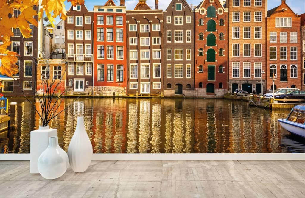 Papier peint Villes - Amsterdam - Chambre à coucher 8