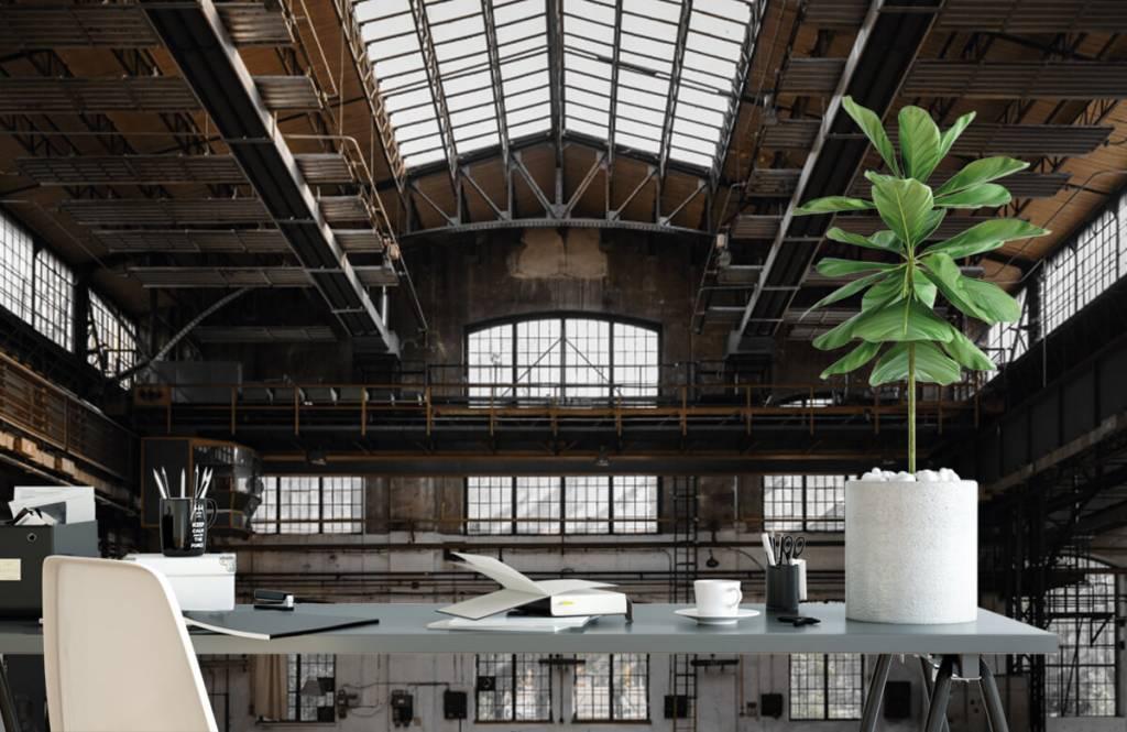 Bâtiments - Verlaten industriële hal - Chambre à coucher 2