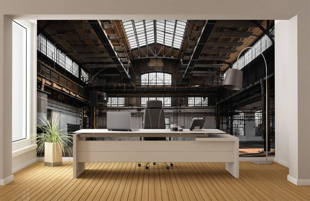 Bâtiments - Verlaten industriële hal - Chambre à coucher 4