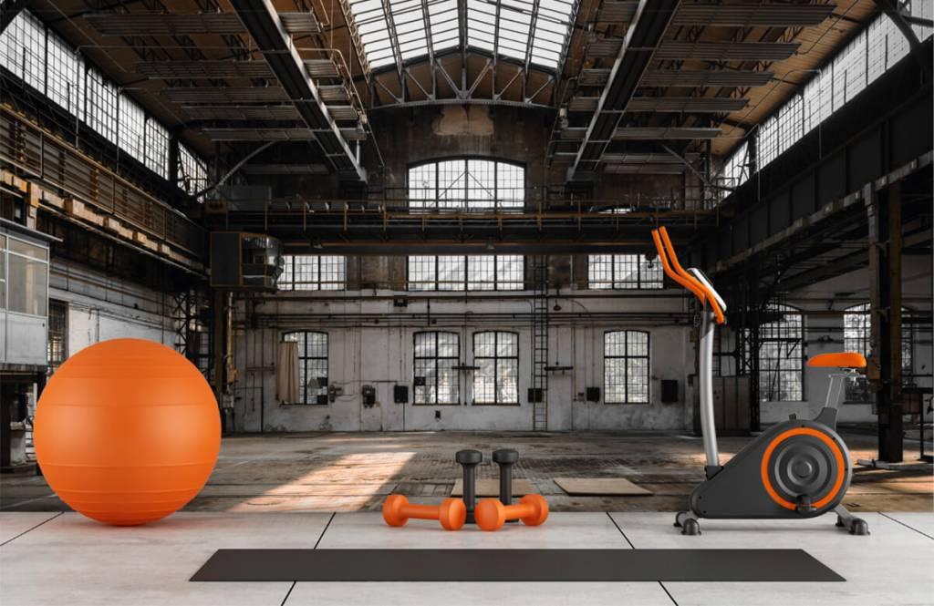 Bâtiments - Verlaten industriële hal - Chambre à coucher 8