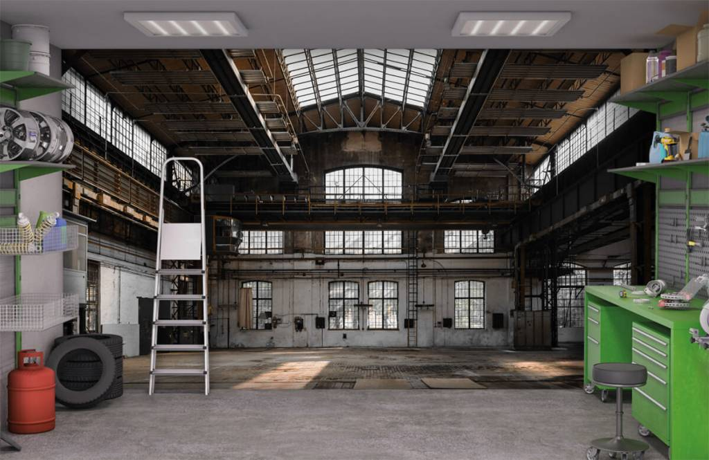 Bâtiments - Verlaten industriële hal - Chambre à coucher 9