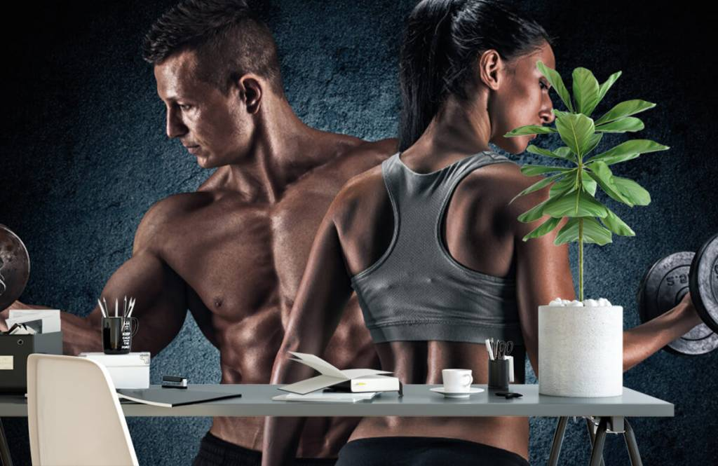 Fitness - Couple athlétique - Chambre d'hobby 2