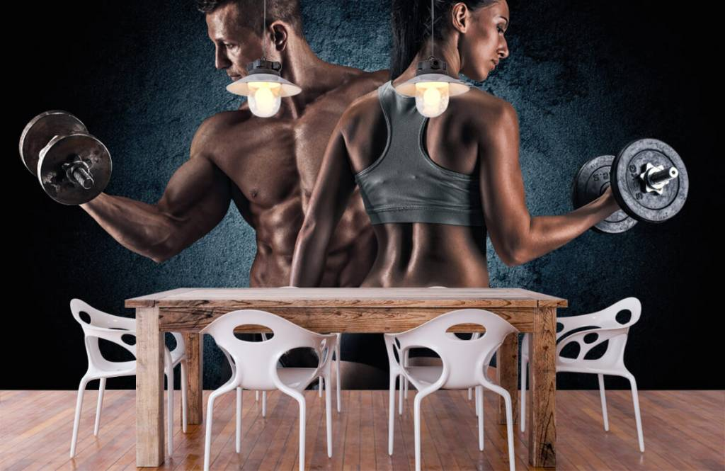 Fitness - Couple athlétique - Chambre d'hobby 7