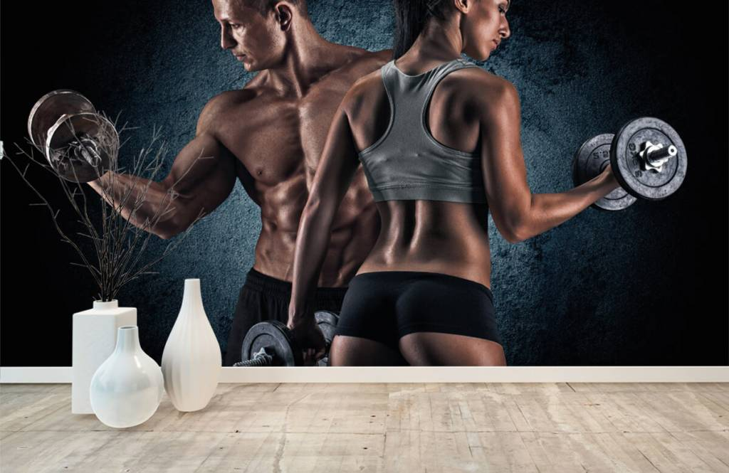 Fitness - Couple athlétique - Chambre d'hobby 8