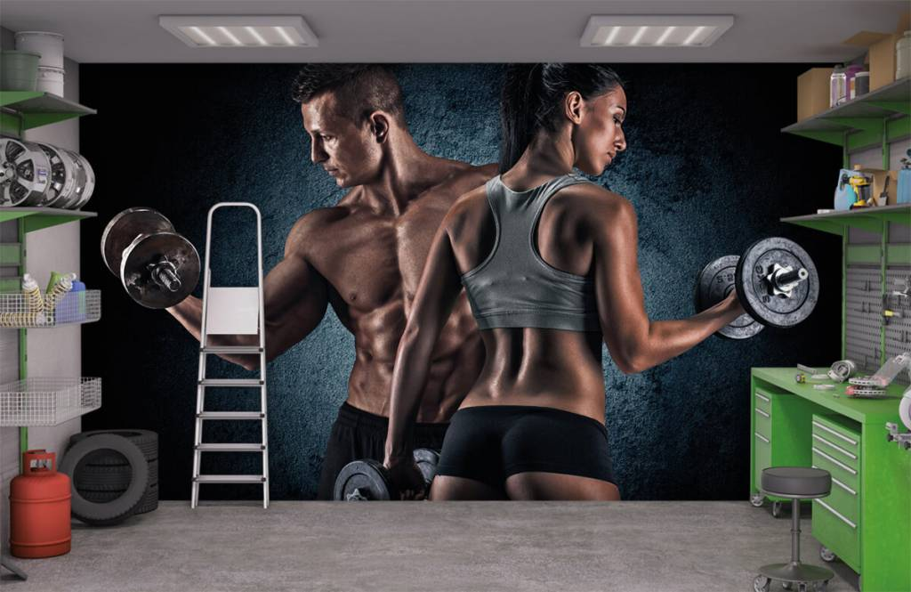 Fitness - Couple athlétique - Chambre d'hobby 9