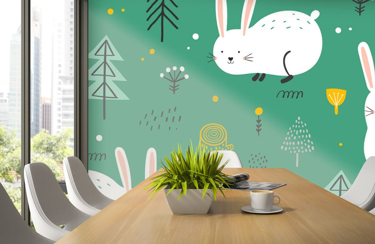 Pattern Motif de lapins 5