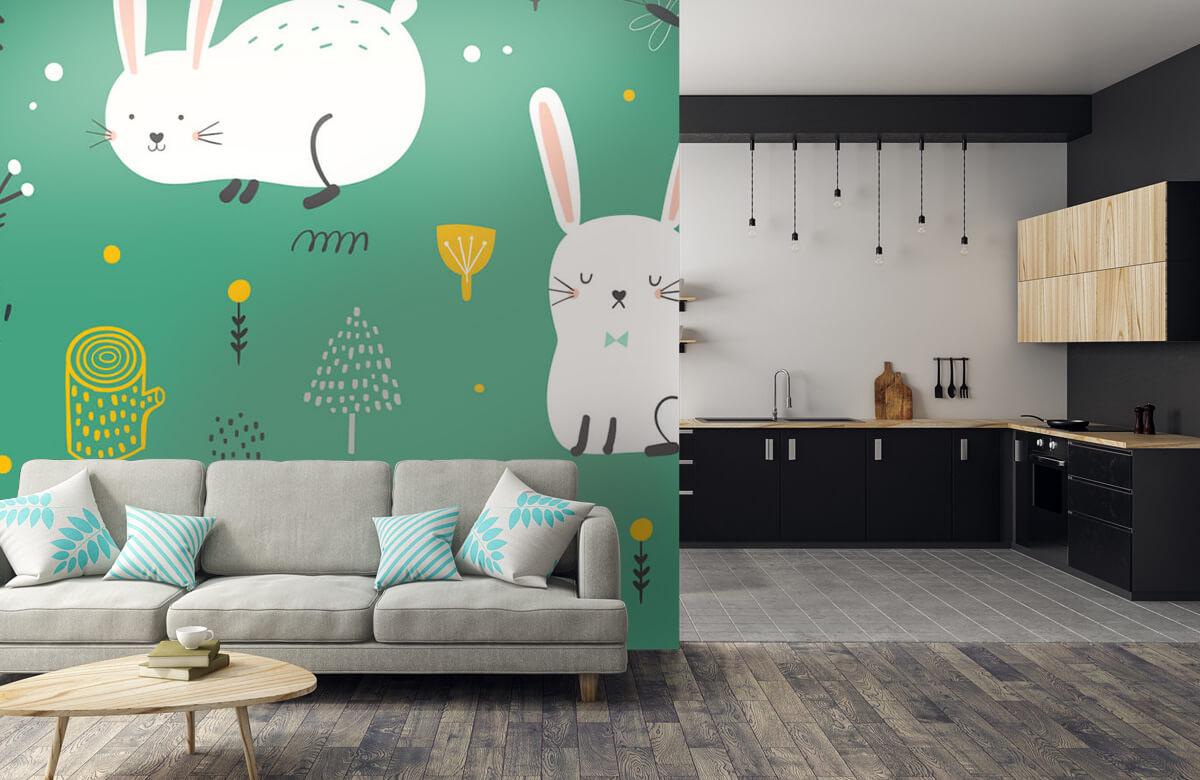 Pattern Motif de lapins 9