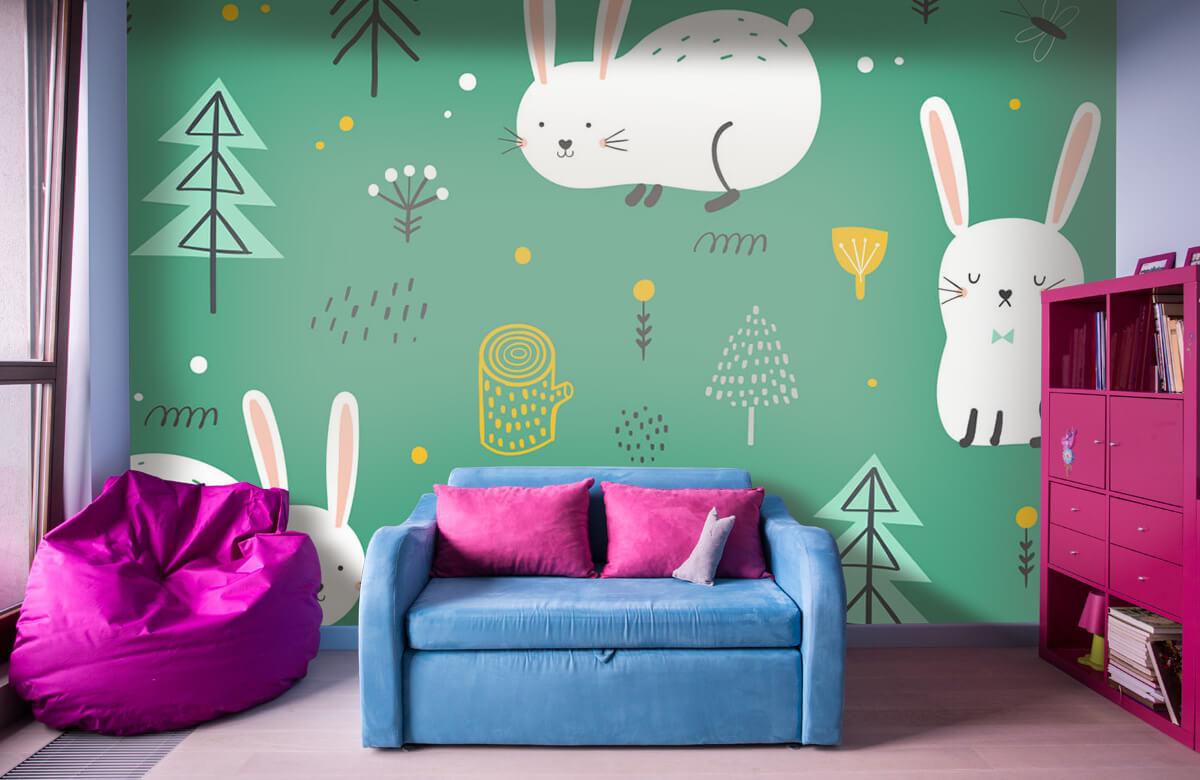 Pattern Motif de lapins 1