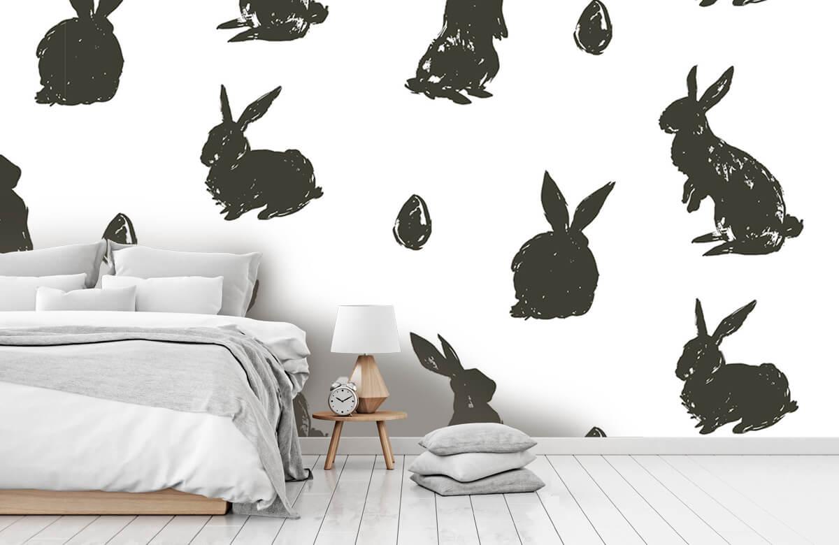 Pattern Le lapin de Pâques 9