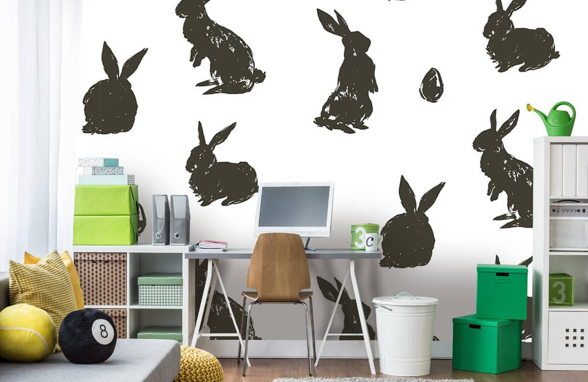 Pattern Le lapin de Pâques 3