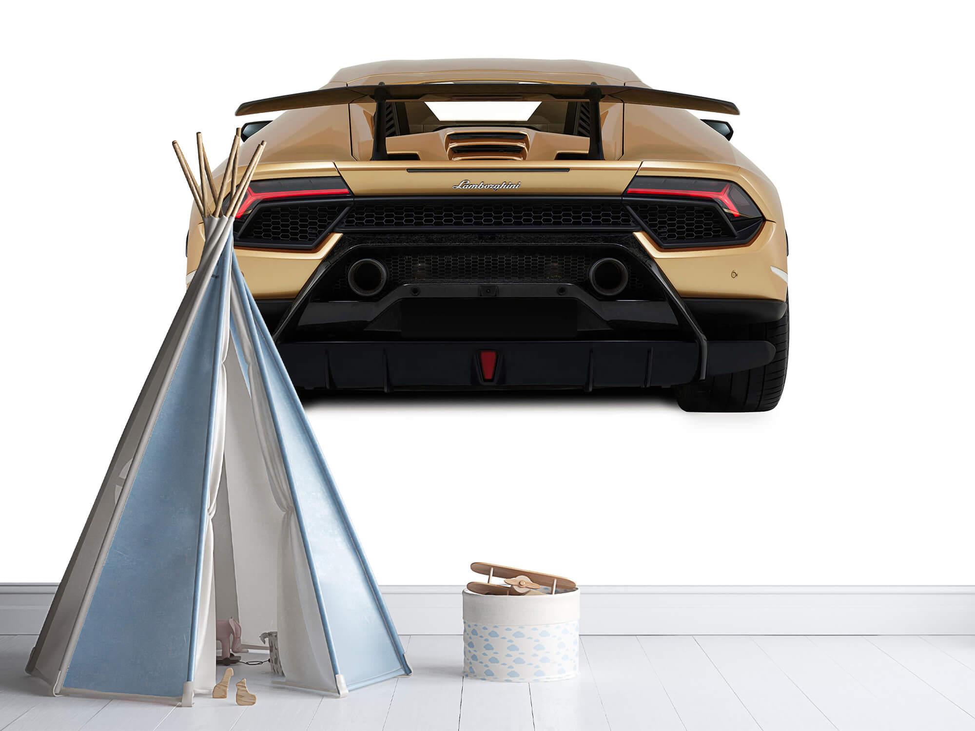 Wallpaper Lamborghini Huracán - Vue arrière, blanc 11